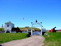 The queens gate at Vardøhus fortress